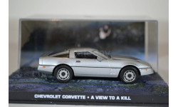 CHEVROLET Corvette Bond 007 A view to a kill, масштабная модель, Ge Fabbri, scale43