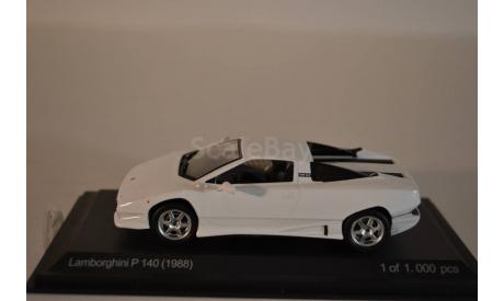 Lamborghini P-140 (1988), масштабная модель, 1:43, 1/43, WhiteBox