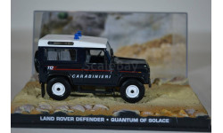 Land Rover Defender Quantum of Solace 2008 (Квант милосердия) James Bond 007, масштабная модель, Ge Fabbri, scale43