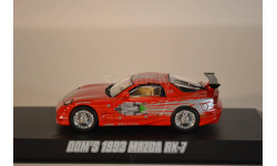 MAZDA RX-7 1993 Red, масштабная модель, 1:43, 1/43, Greenlight Collectibles