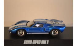 FORD GT40 1966 Blue Fast & FuriousFast Five  (из кф Форсаж V), масштабная модель, 1:43, 1/43, Greenlight Collectibles