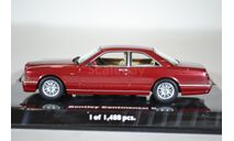 BENTLEY CONTINENTAL R - 1996 - RED METALLIC, масштабная модель, Minichamps, 1:43, 1/43