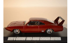 DODGE Charger Daytona 1969 Fast & Furious 6 (из кфФорсаж VI), масштабная модель, 1:43, 1/43, Greenlight Collectibles