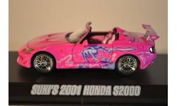 HONDA S2000 2001 2 Fast & 2 Furious (из кф Двойной Форсаж), масштабная модель, 1:43, 1/43, Greenlight Collectibles