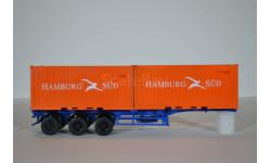 Полуприцеп-контейнеровоз МАЗ-938920 с контейнерами Hamburg Sud