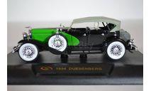 Duesenberg 1934 с.з, масштабная модель, Signature, 1:32, 1/32