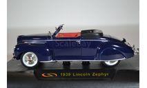 Lincoln Zephyr Convertible 1939, масштабная модель, Signature, 1:32, 1/32