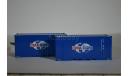 Полуприцеп-контейнеровоз МАЗ-938920 с контейнерами CMA CGM, сборная модель автомобиля, AVD для SSM, scale43