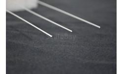 ABS квадратный пластиковый  стержень, сечением 1*1 мм