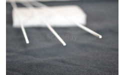 ABS квадратный пластиковый  стержень, сечением 2*2 мм