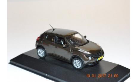 NISSAN JUKE коричневый, масштабная модель, scale43, J-Collection