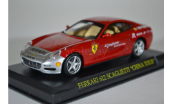 FERRARI 612 SCAGLIETTI CHINA TOUR, масштабная модель, Ge Fabbri, 1:43, 1/43