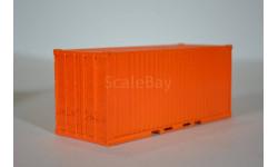 контейнер 20 футов 'кирпичный', сборная модель автомобиля, AVD для SSM, 1:43, 1/43