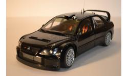 Mitsubishi Lancer WRS05, масштабная модель, 1:18, 1/18, Autoart