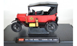 1925 Ford Model T Touring (Fire Chief) - Red, масштабная модель, Sunstar, 1:24, 1/24