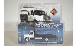 International Truck  DuraStar 4400 Flatbed, масштабная модель, Greenlight Collectibles, scale64