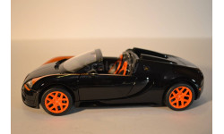 Bugatti Veyron 16.4 Grand Sport Vitesse, масштабная модель, 1:18, 1/18, Rastar
