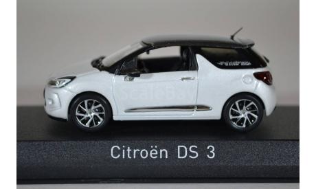Citroen DS3 2014, масштабная модель, Norev, 1:43, 1/43