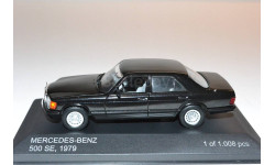 MERSEDES BENZ 500 SE 1979, масштабная модель, 1:43, 1/43, WhiteBox, Mercedes-Benz