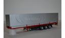 полуприцеп маз 9758 красный-серебристый, сборная модель автомобиля, AVD для SSM, 1:43, 1/43