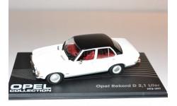Opel Rekord D 2,1 Liter 1973-1977