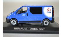 RENAULT Trafic 2010 EDF Blue, масштабная модель, Norev, 1:43, 1/43