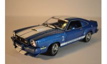 1976 Ford Mustang  11 COBRA 11, масштабная модель, scale18, Greenlight Collectibles
