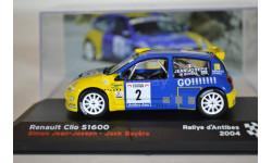 Renault Clio S1600 #2, масштабная модель, IXO/Altaya, scale43