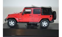 JEEP Wrangler 4x4 Unlimited Freedom Edition 5-дв.(Soft Top) 2014, масштабная модель, Greenlight Collectibles, 1:43, 1/43