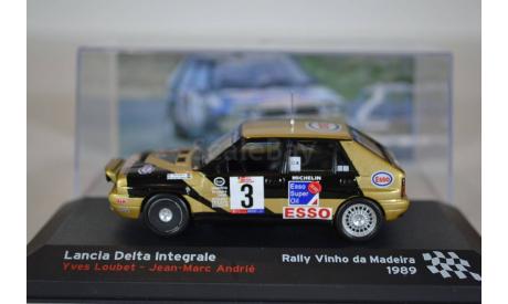 Lancia Delta Integrale #3, масштабная модель, IXO/Altaya, scale43