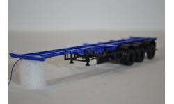 Полуприцеп-контейнеровоз МАЗ-938920, сборная модель автомобиля, AVD для SSM, 1:43, 1/43