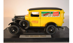 Ford Delivery TRUCK 1931, масштабная модель, 1:18, 1/18, Signature