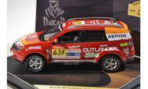 Mitsubishi Outlander Support Car, масштабная модель, 1:43, 1/43, Vitesse
