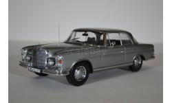 Mercedes-Benz 280 SE Coupe (W111) 1969 Grey, масштабная модель, 1:18, 1/18, Norev