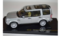 Land Rover Discovery 4 2009 серебристый