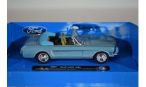 Ford Mustang 1964, масштабная модель, NewRay, scale43