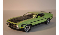 FORD MUSTANG BOSS 351, greenblack 1971