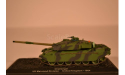 Challenger UK, масштабные модели бронетехники, 1:72, 1/72, Altaya