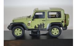JEEP Wrangler 4х4 U.S.Army Limited Edition (Hard Top) 2012 светло-зеленый, масштабная модель, Greenlight Collectibles, 1:43, 1/43