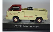Volkswagen T3b pick-up Spezialwerkstatt в кузове мотор Porsche 356 1980, масштабная модель, Premium Classixxs, scale43