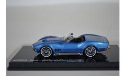 Corvette Open Convertible - LeMans Blue 1968, масштабная модель, Vitesse, 1:43, 1/43