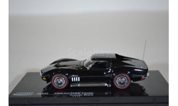 Chevrolet Corvette Coupe - Tuxedo Black 1969, масштабная модель, Vitesse, scale43