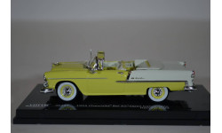 Chevrolet Bel Air Open Convertible - Harvest Gold 1955, масштабная модель, Vitesse, scale43