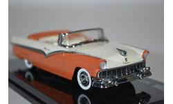 Ford Fairlane Open Convertible Mandarin OrangeColonial Whit 1956, масштабная модель, Vitesse, scale43