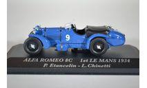 Alfa Romeo 8C P.EtancelinN-L.Cinetti #9 winner Le Mans 1934, масштабная модель, Alfa Romeo Sport Collection, 1:43, 1/43