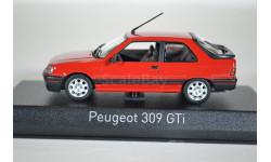 Peugeot 309 GTI 1987 Vallelunga Red (красный)