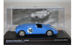 Simca Gordini - 1949 #50, масштабная модель, IXO/Altaya, scale43