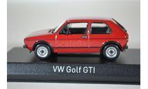 Volkswagen Golf I GTI 1976 Red, масштабная модель, Norev, scale43