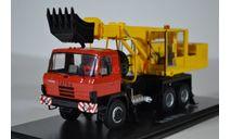 Экскаватор-планировщик UDS-114A (на шасси Tatra-815)_2, масштабная модель, Start Scale Models (SSM), scale43