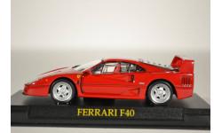 Ferrari F40, масштабная модель, 1:43, 1/43, Ge Fabbri